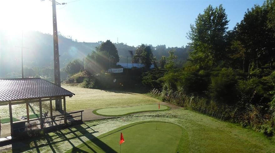 césped sintético open golf
